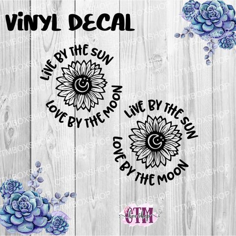 Live by the Sun Vinyl Decal