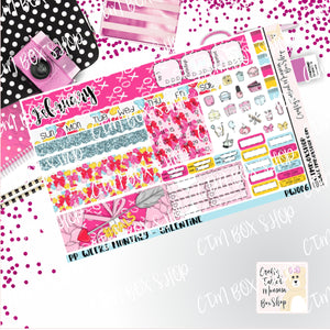 Galentines PP Weeks Monthly Sticker Kit   Choose your month   Monthly Sticker kit   PP Weeks   Planner Stickers    Sticker Kit