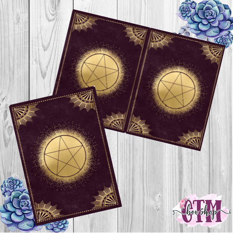 Pentacle TN or Planner Dashboard   TN Dashboard   Traveler's Notebook Dashboard   TN Insert   Planner Dashboard   Planner Insert