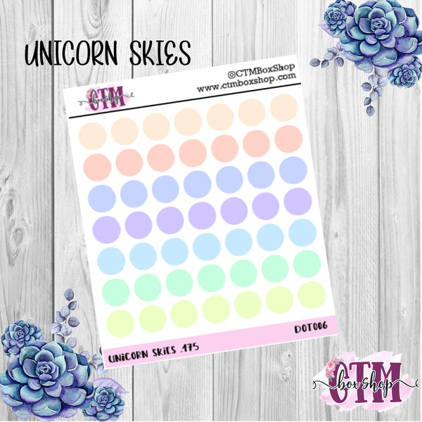 Small Planner Dots stickers, functional stickers, dot stickers, planner stickers