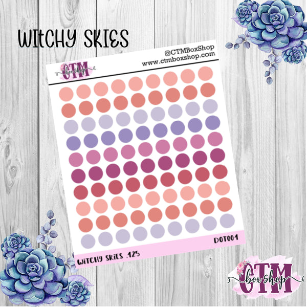 Extra Small Planner Dots stickers, functional stickers, dot stickers, planner stickers