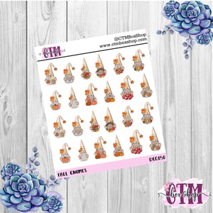 Autumn gnomes Deco Stickers
