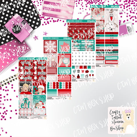 Christmas favorites PP Weeks Weekly Sticker Kit   Mini Weekly Kit   Planner Sticker Kit   Weeks Planner Kit   Weekly Sticker Kit   Planner Stickers
