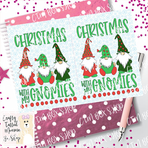 Gnomies Dashboard / Dashboard / TN Dashboard / Traveler's Notebook Dashboard  / TN Insert / Planner Dashboard / Planner Insert