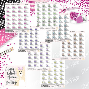 Laundry Today or Naked Tomorrow Stickers   Baseball Stickers    Planner Stickers     Stickers   Deco Stickers Functional Stickers