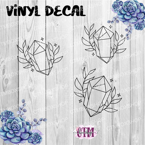 Crystals and Spells Vinyl Decal