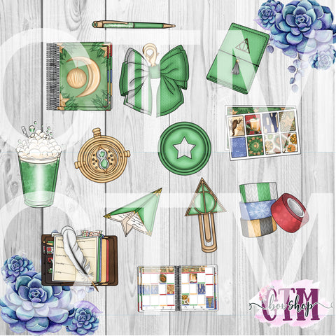 Green House Die Cuts