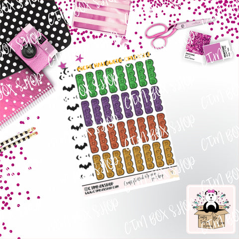 Micro Sticker Sheet  Checklists   Planner Stickers   Checklist Functional Stickers   Micro Planner Stickers