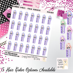Hydrate Dolls Stickers   Character Stickers   Planner Stickers   Functional Stickers   Deco Stickers