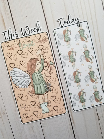 Angel Love Travelers Notebook or Planner Bookmark