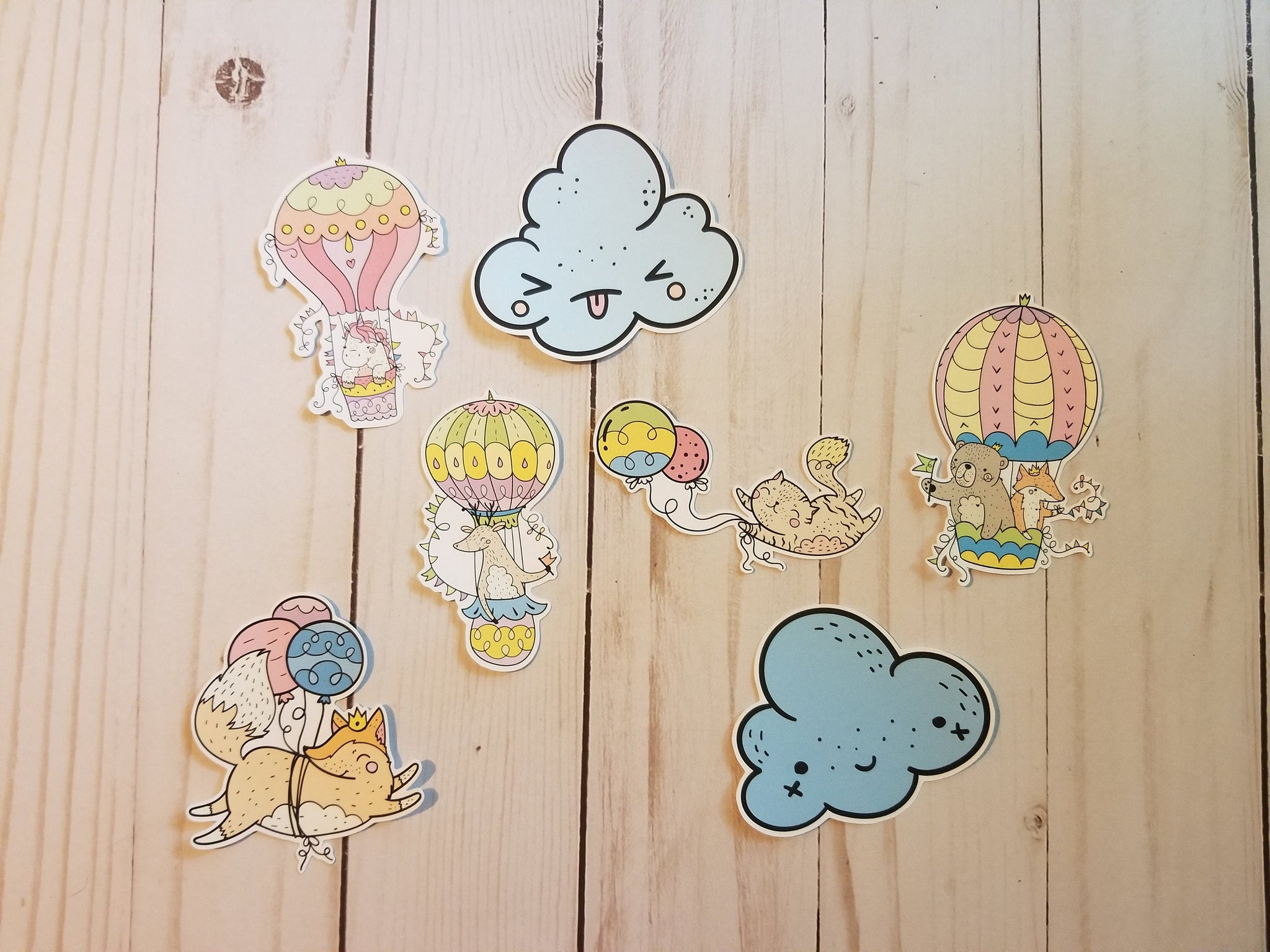 Up   Up and Away Die Cuts,  Balloon Die Cuts, Die Cuts, Die Cut Set