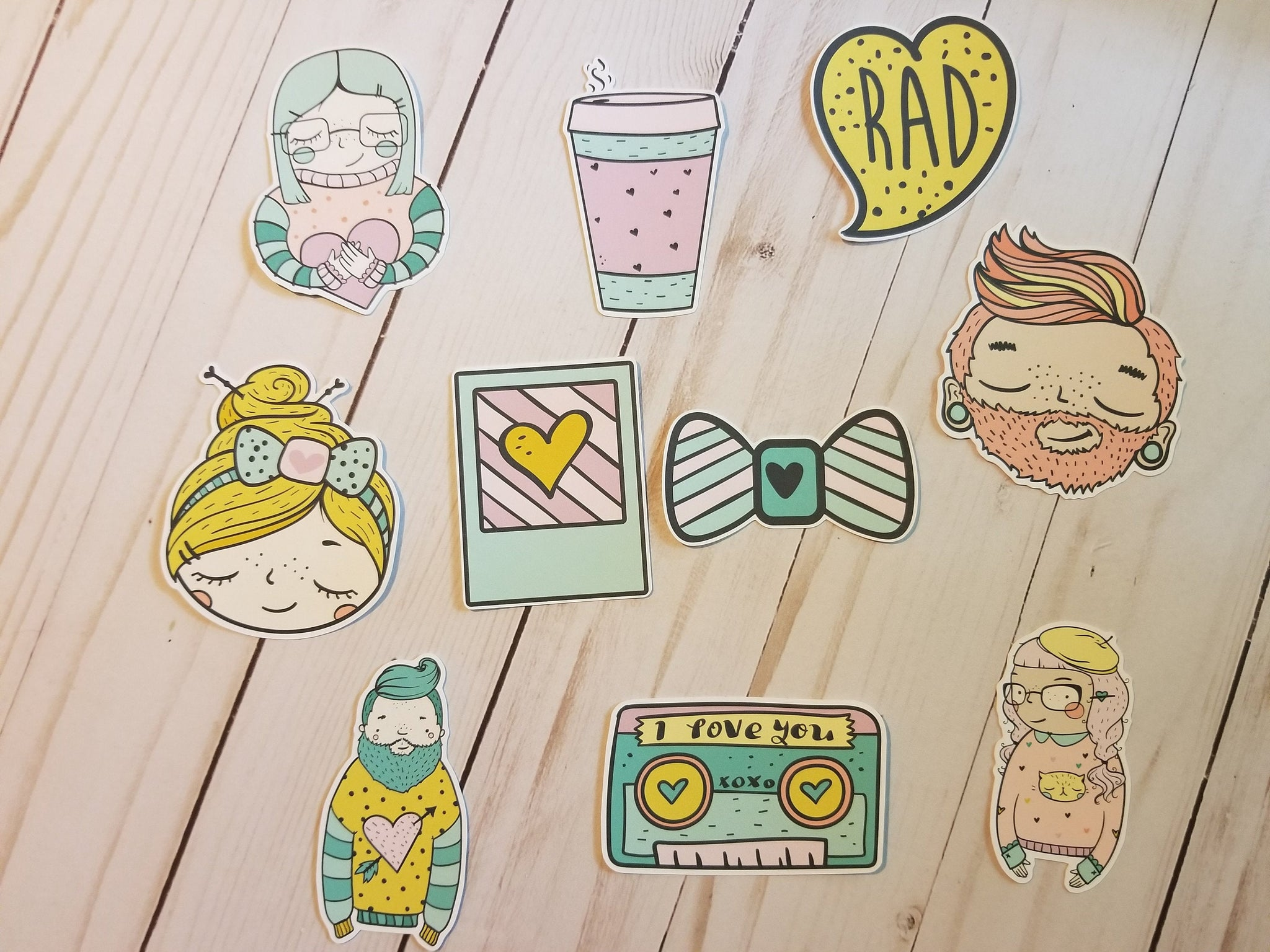 Hipster Die Cuts, Hipster