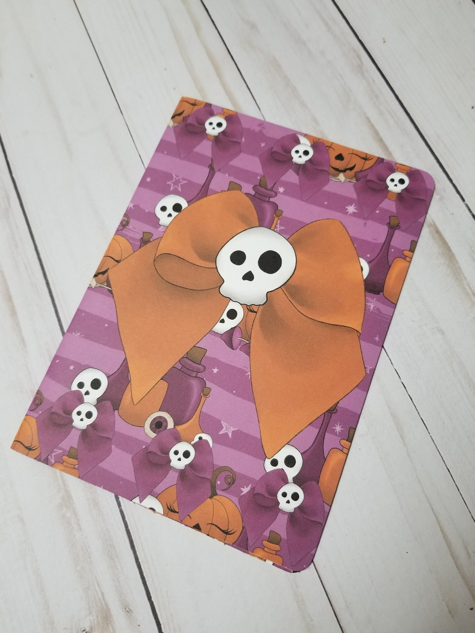 Skull Bow Dashboard / Halloween Dashboard / TN Dashboard / Traveler's Notebook Dashboard  / TN Insert / Planner Dashboard / Planner Insert