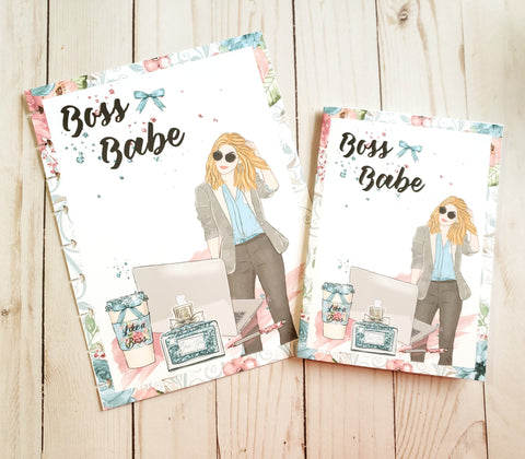Boss Babe Dashboard / Dashboard / TN Dashboard / Traveler's Notebook Dashboard  / TN Insert / Planner Dashboard / Planner Insert