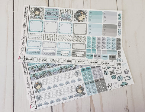 New World Deluxe Hobonichi Weeks Sticker Kit   Weekly Sticker Kit   Hobonichi Weeks   Planner Stickers   Mini Stickers   Functional Sticker