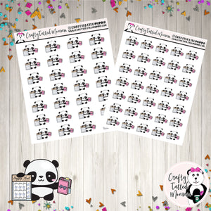 Zoe got Sticker Mail   Panda Stickers   Planner Stickers   Character Stickers   Zoe the Panda   Happy Mail Stickers   Functional Stickers   Deco