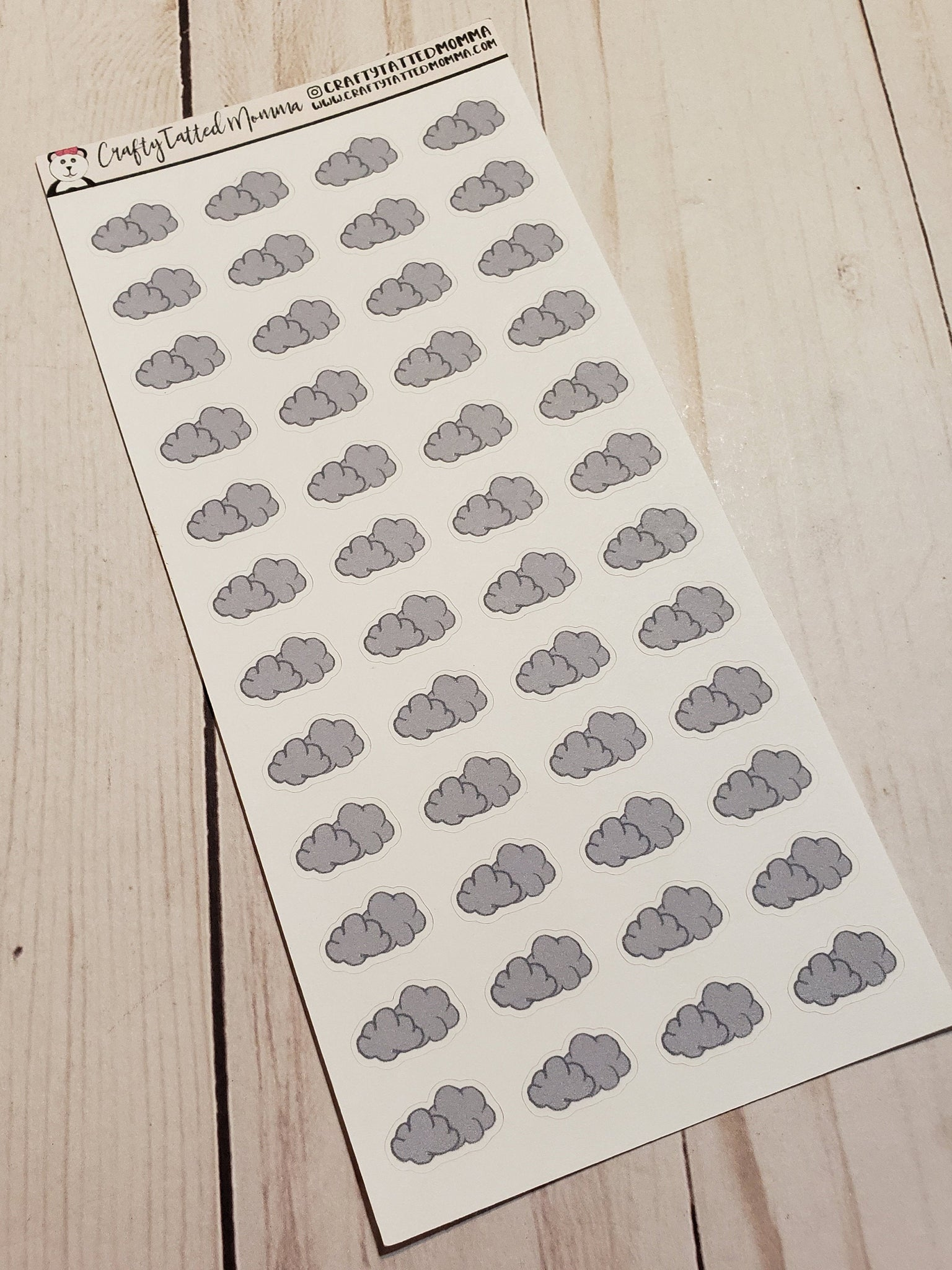 Hand Drawn Weather Stickers   Cloudy   Planner Stickers   Hobonichi Stickers   Small Weather Stickers   Weather Stickers   Hand Drawn