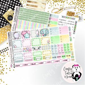 Sea Horse Deluxe Hobonichi Weeks Sticker Kit   Weekly Sticker Kit   Hobonichi Weeks   Planner Stickers   Mini Stickers   Functional Sticker