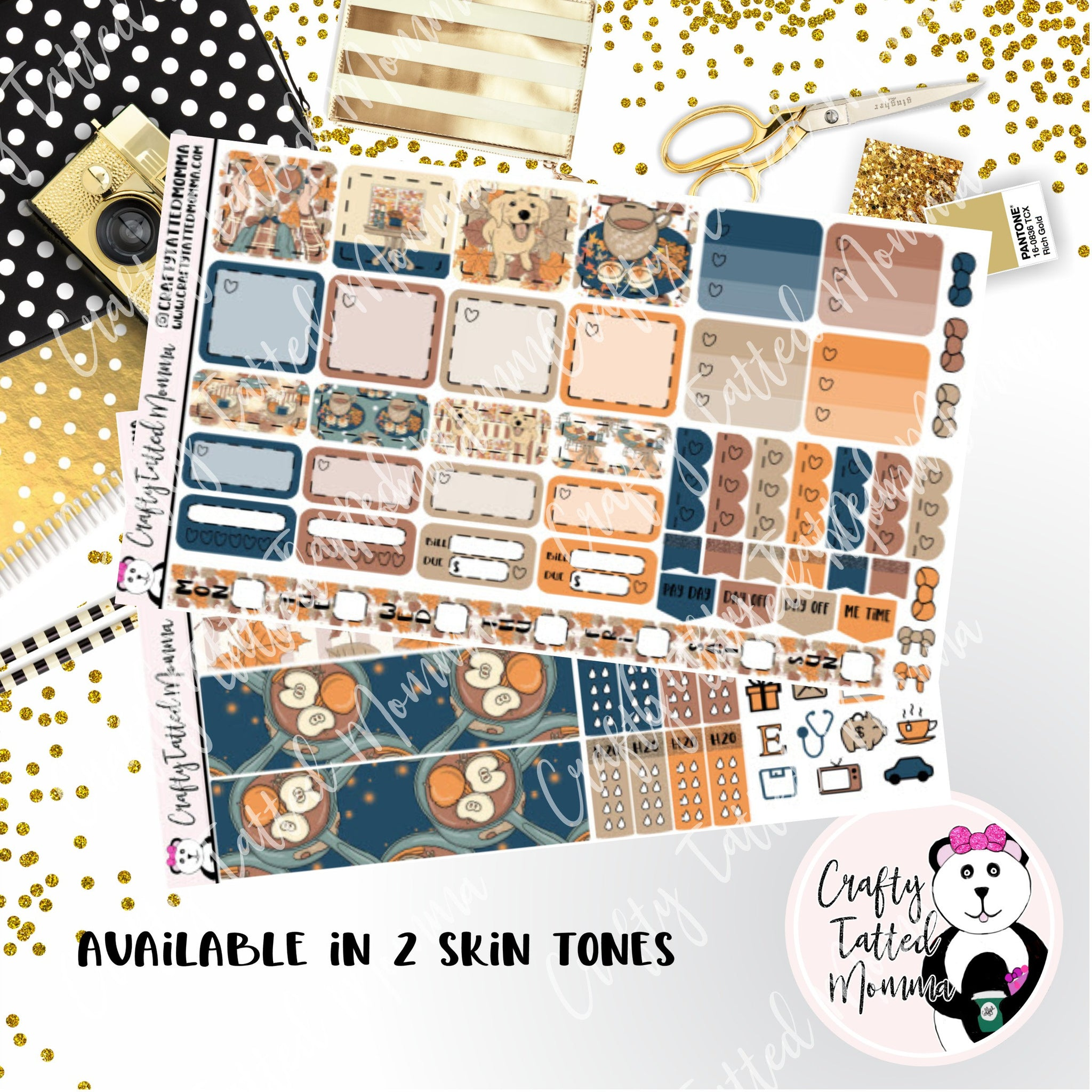Cozy Home Deluxe Hobonichi Weeks Sticker Kit   Weekly Sticker Kit   Hobonichi Weeks   Planner Stickers   Mini Stickers   Functional Sticker