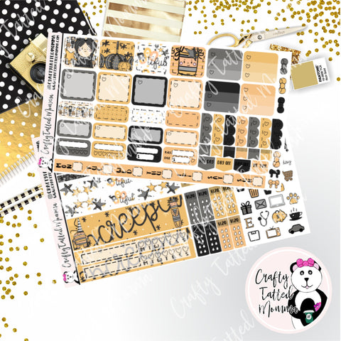 Bootiful Deluxe Hobonichi Weeks Sticker Kit   Weekly Sticker Kit   Hobonichi Weeks   Planner Stickers   Mini Stickers   Functional Sticker