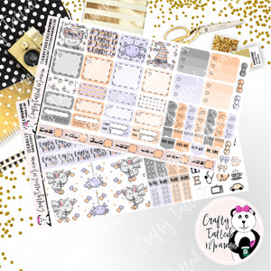 Careful I Bite Deluxe Hobonichi Weeks Sticker Kit   Weekly Sticker Kit   Hobonichi Weeks   Planner Stickers   Mini Stickers   Functional Sticker