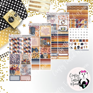 Fall Y'all PP Weeks Weekly Sticker Kit   Mini Weekly Kit   Planner Sticker Kit   Weeks Planner Kit   Weekly Sticker Kit   Planner Stickers