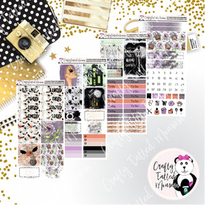Spooky Halloween PP Weeks Weekly Sticker Kit   Mini Weekly Kit   Planner Sticker Kit   Weeks Planner Kit   Weekly Sticker Kit   Planner Stickers
