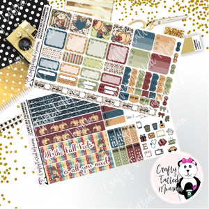 Fall Feels Deluxe Hobonichi Weeks Sticker Kit   Weekly Sticker Kit   Hobonichi Weeks   Planner Stickers   Mini Stickers