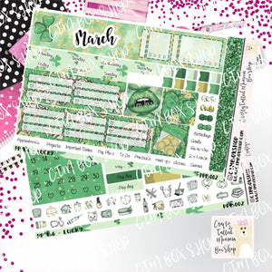 Lucky PP B6 Monthly Sticker Kit   Choose your month   Monthly Sticker kit   PP B6 Planner Stickers    Sticker Kit