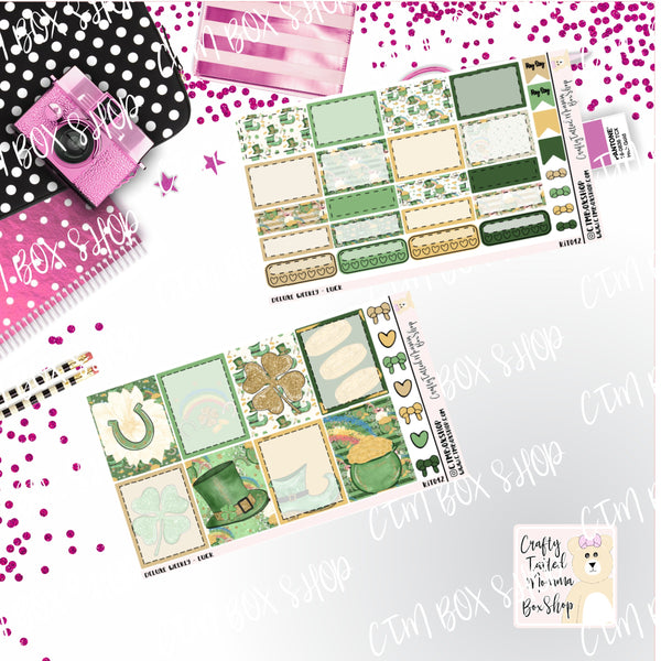 Luck Deluxe Weekly Kit, A La Carte