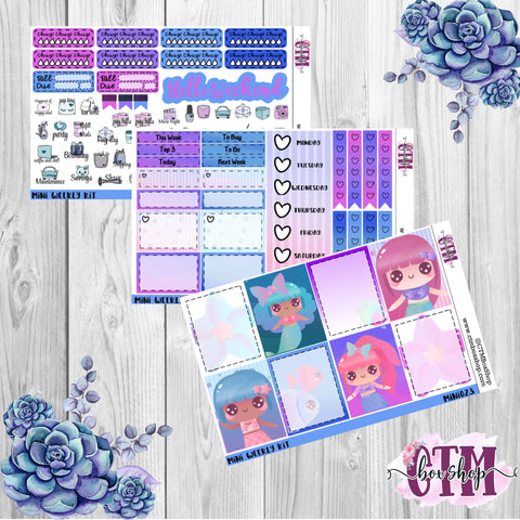 Magical Mermaid Mini Weekly Kit
