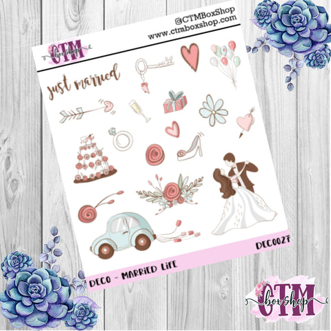Married Life Deco Sheet
