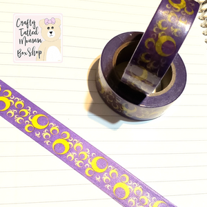 Purple Moon Washi