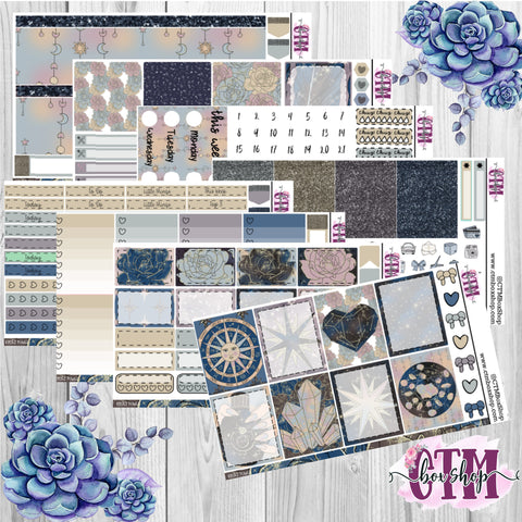 Power A La Carte or Deluxe Weekly Sticker Kit   Planner Sticker Kit   Weekly Sticker Kit   EC Stickers   Planner Stickers
