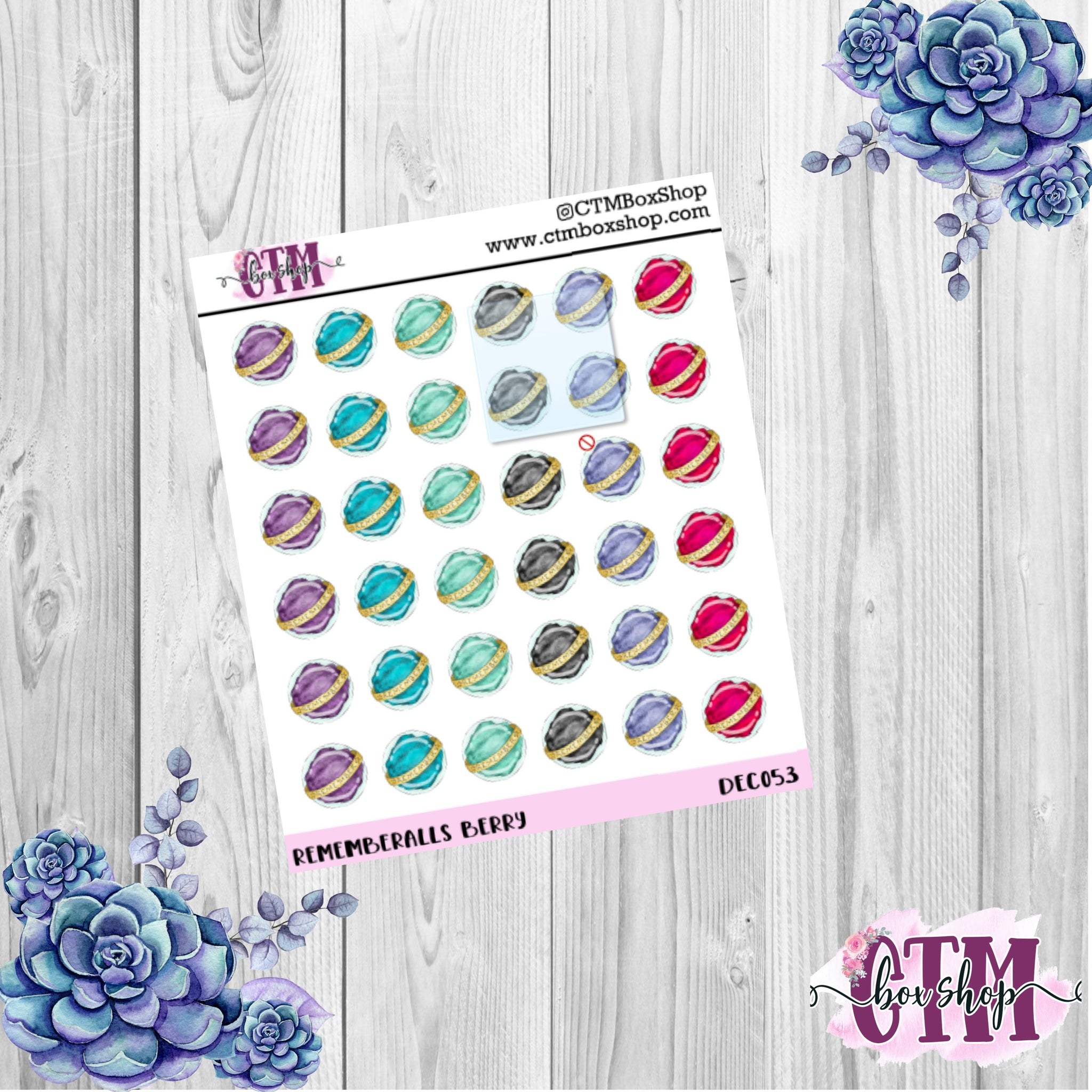Berry Rememberall Deco Stickers