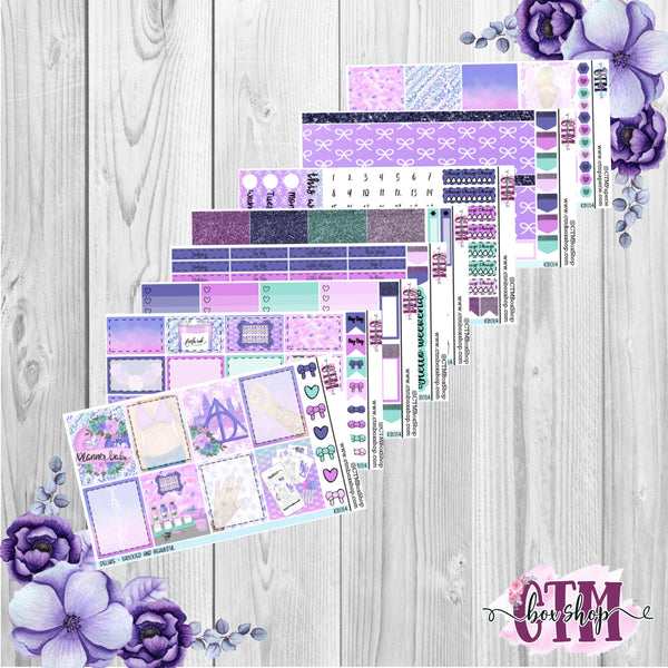 Tattooed A La Carte or Deluxe Weekly Sticker Kit   Planner Sticker Kit   Weekly Sticker Kit   EC Stickers   Planner Stickers