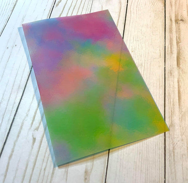 Rainbow Splash Vellum Dashboard