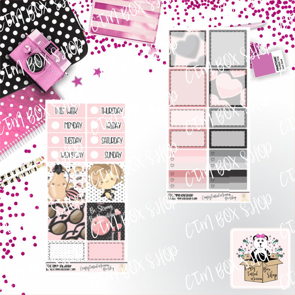 Wake up and Make up PP Weeks Weekly Sticker Kit   Mini Weekly Kit   Planner Sticker Kit   Weeks Planner Kit   Weekly Sticker Kit   Planner Stickers