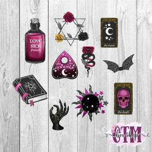 Witchy Die Cuts