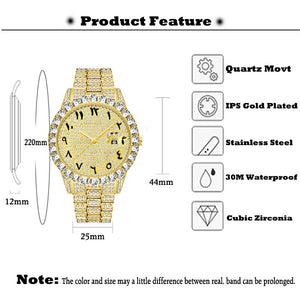 Men Fashion Stainless Steel Top Brand Luxury Quartz Business Wristwatch
