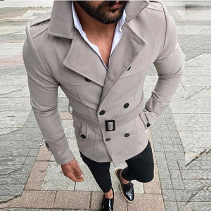 Top Windbreaker Trench Coat - AMDZ TRENDS