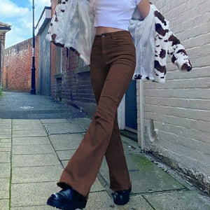 Brown Denim Vintage Jeans
