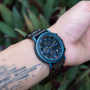 Luxury Chronograph Military Watches With Personalized Name or LOGO