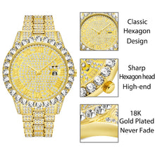 Load image into Gallery viewer, Diamond Red  Luxury 18K Gold Watch For Men