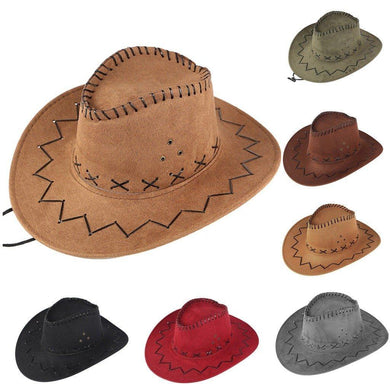 Western Cowboy Hat With A Large Brimmed For Men or Female - AMDZ TRENDS