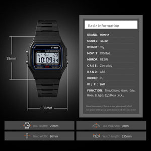 Analog Digital Military  LED Waterproof Wrist Watch  For Women And Men - AMDZ TRENDS