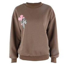 Load image into Gallery viewer, Leopard Print Aesthetics Vintage Crewneck - AMDZ TRENDS