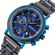 Load image into Gallery viewer, Luxury Chronograph Military Watches With Personalized Name or LOGO