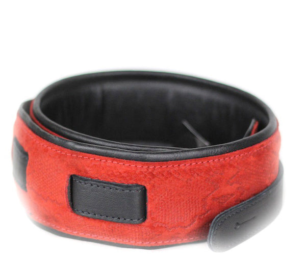 Leathergraft Deluxe Padded Red Snake