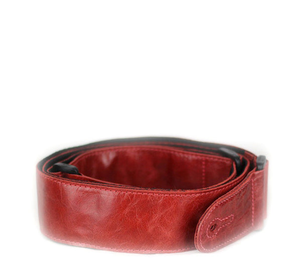 Leathergraft Adjustable Red Leather